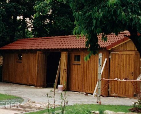Gerätehaus, Schuppen, inkl. Dacheindeckung Projekt: Wittenberg
