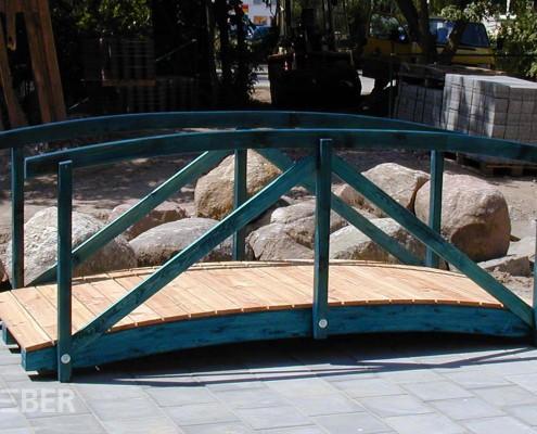 Holzbrücke aus Lärche Projekt: Schwedt