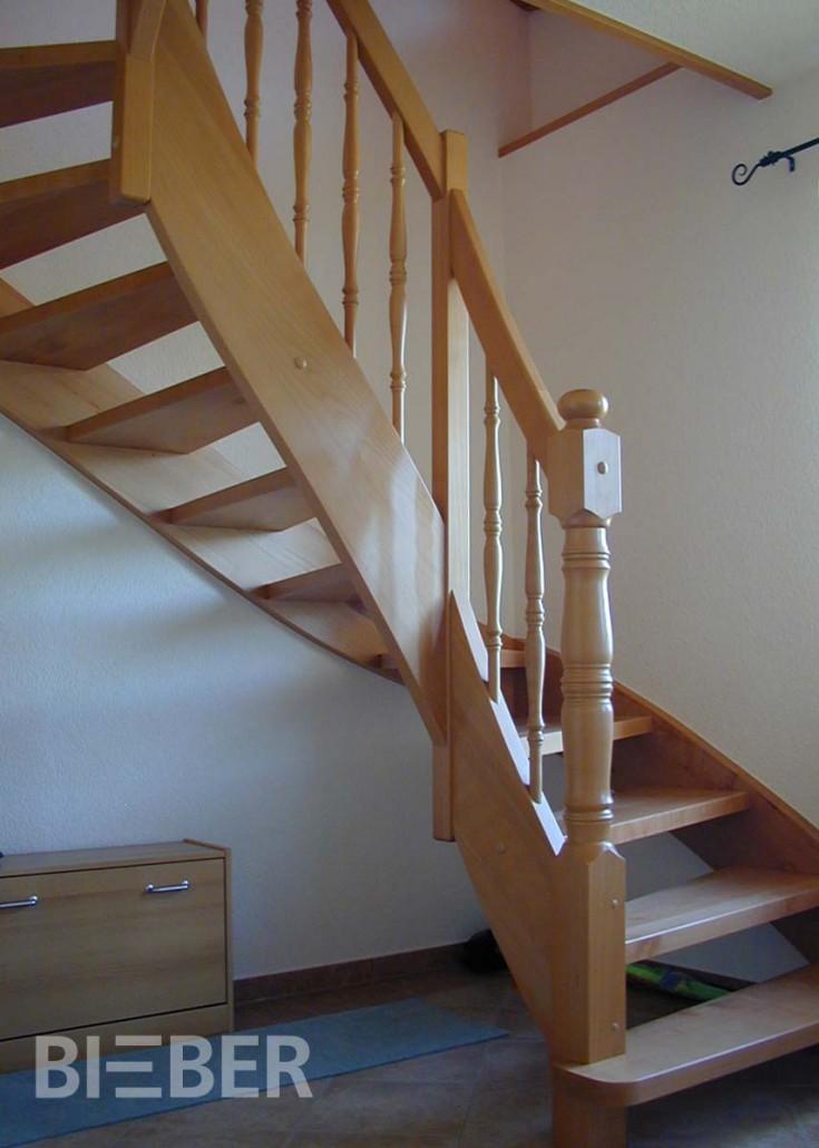 Halbgewendelte Treppen halbgewendelte treppen tischlerei treppenbau gunter bieber