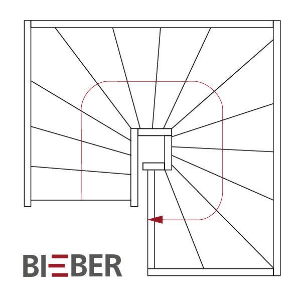 lexikon treppengrundrisse tischlerei treppenbau gunter bieber individuelle holztreppen aus. Black Bedroom Furniture Sets. Home Design Ideas