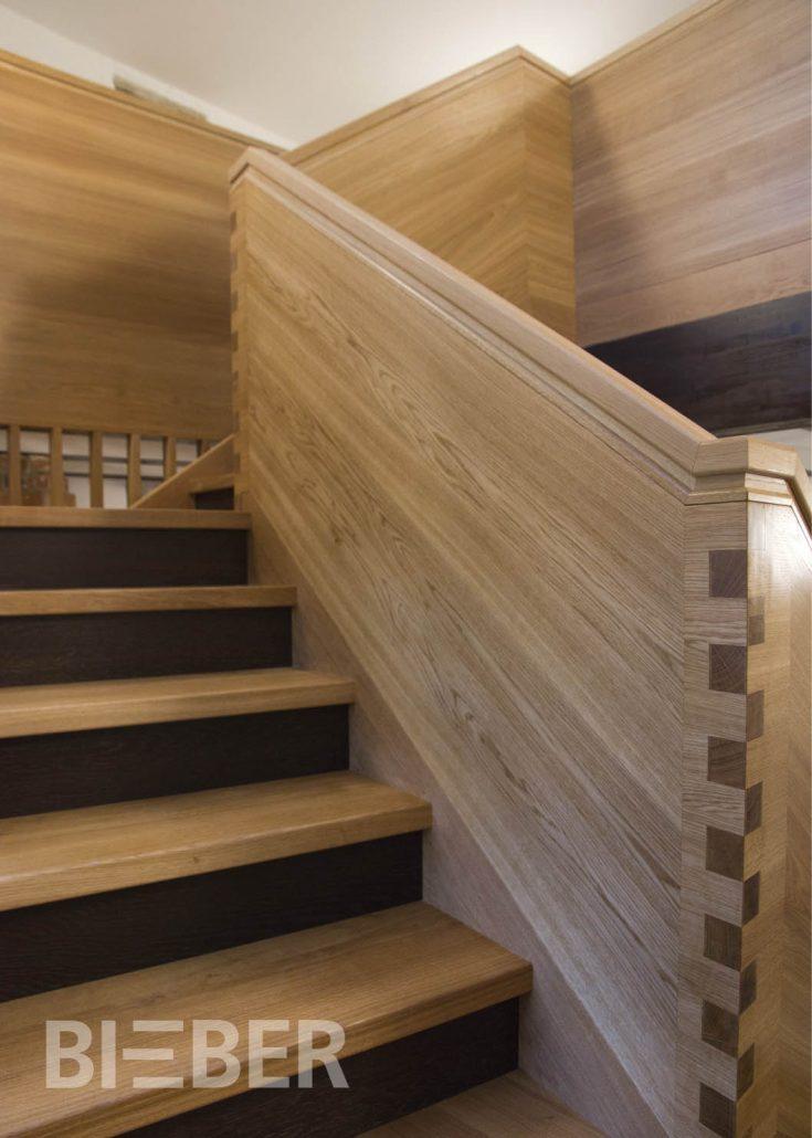Handlauf Treppe treppengeländer tischlerei treppenbau gunter bieber individuelle